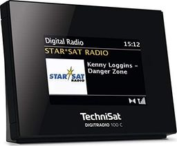 Radio Technisat TechniSat DIGITRADIO 100 C (black, DAB +, FM, Bluetooth)