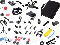 Xrec Zestaw / Akcesoria MontaŻowe Do Kamer Sportowych Gopro / Sjcam / Xiaomi / Sony Action Cam