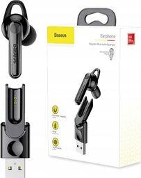 Baseus Mini Słuchawka Bluetooth 4.1 + Stacja Ładująca