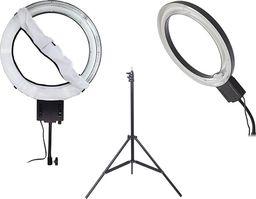 Lampa pierścieniowa NanGuang Lampa PierŚcieniowa Ring 65w Nanguang Ng-65c + Dyfuzor + Statyw 230cm