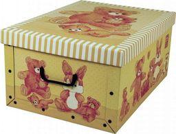 Miss Space Pudełko kartonowe MINI MISIE-BEŻOWE uniwersalny