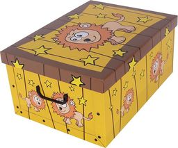Miss Space Pudełko kartonowe MINI SAWANNA-LEW uniwersalny