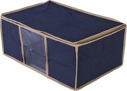 Miss Space Organizer do szafy na pościel, niebieski 45x30x20 uniwersalny