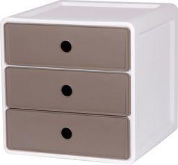 EDA Szafka 3 szuflady ciemno-szare uniwersalny