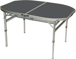 Bo Camp Stół owalny z odczepianymi nogami alu 120x80cm Bo Camp uniwersalny