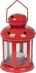 Urban Outdoor Lampka na świeczki 16cm, czerwona uniwersalny