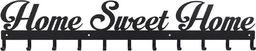 D2 Design Wieszak Sweet Home czarny uniwersalny