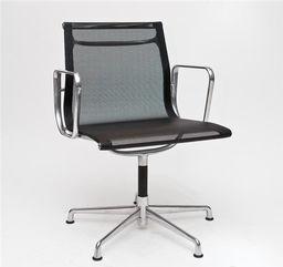 D2 Design Fotel konferencyjny CH1081 inspirowany EA108 siateczka, chrom uniwersalny