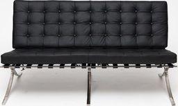D2 Design Sofa BA2 Premium Inspirowana Barcelona uniwersalny