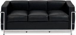 D2 Design Sofa trzyosobowa Kubik inspirowana LC2 uniwersalny
