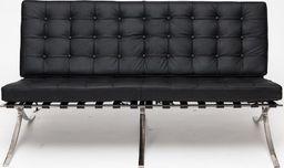 D2 Design Sofa BA2 2 osobowa Inspirowana ekoskóra uniwersalny