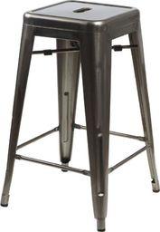 D2 Design Stołek barowy Paris 66cm  inspirowany Tolix  uniwersalny