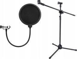 Xrec Filtr Pop + Statyw mikrofonowy
