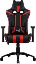 Fotel Aerocool AC120 AIR Czarno-czerwony (AC120 AIR-BR)
