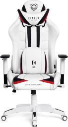 Fotel Diablo Chairs X-RAY model S BIAŁO-CZARNY (5902560336153)