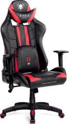 Fotel Diablo Chairs X-RAY model L CZARNO-CZERWONY (5902560336054)