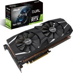 Karta graficzna Asus Dual GeForce RTX 2080Ti Advanced 11GB GDDR6 (90YV0C42-M0NM00)