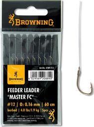 Browning #14 Przypon Master FC brazowy 1,45kg,3,0lbs Ø0,14mm 60cm 5szt (4709214)