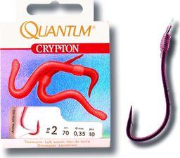 Quantum #2 Przypon Crypton Rosówka czerwony 0,35mm 70cm 10szt (4750002)