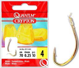Quantum #6 Przypon Crypton zloty 0,22mm 70cm 10szt (4751006)