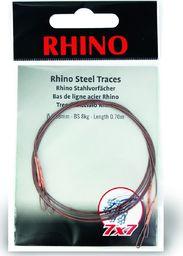 Rhino Ø0,34mm Przypony Stalowe Rhino 7x7 0,7m 8kg 2szt (2325008)