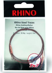 Rhino Ø0,38mm Przypony Stalowe Rhino 7x7 0,7m 5kg 2szt (2325005)