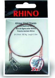 Rhino Ø0,42mm Przypony Stalowe Rhino 7x7 0,5m 12kg 2szt (2318012)