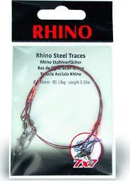 Rhino Ø0,39mm Przypony Stalowe Rhino 7x7 0,3m 9kg 2szt (2310009)