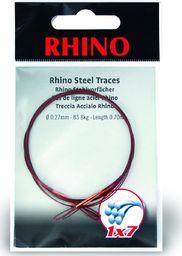 Rhino Ø0,33mm Przypony Stalowe Rhino 1x7 0,7m 12kg 2szt (2316012)