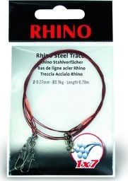 Rhino Ø0,33mm Przypony Stalowe Rhino 1x7 0,3m 13kg 2szt (2305013)