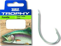 Zebco #10 Trophy Pstrag Przypon 0,17mm 0,70m 10szt (4385010)