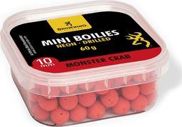 Browning Mini Boilie Neon, nawiercone czerwony Monster Krab Ø10mm 60g (3905005)