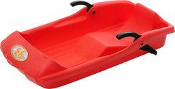 EDA Sanki plastikowe z hamulcami Bob 28 czerwone