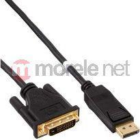 Kabel InLine DVI DisplayPort, 2m, Czarny (17112)