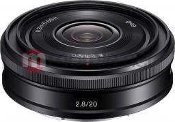 Obiektyw Sony 2,8/20 E-Mount Sony Lens (SEL20F28.AE)