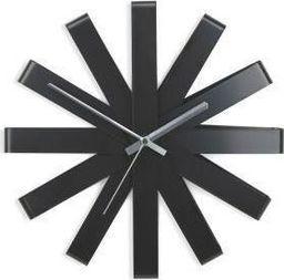Umbra Zegar Ribbon czarny uniwersalny
