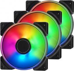 Fractal Design Prisma AL-12 ARGB 120mm 3-pack (FD-FAN-PRI-AL12-PWM-3P)