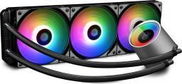 Chłodzenie wodne Deepcool Chłodzenie Wodne CASTLE 360RGB (DP-GS-H12L-CSL360RGB)