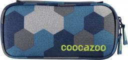 Piórnik Coocazoo PencilDenzel Blue Geometric Melange