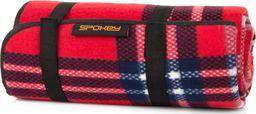 Spokey Koc piknikowy Picnic Highland czerwono-czarny