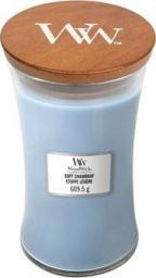 WoodWick zapach w szkle WoodWick duża Soft Chambray 118mm x 110mm (93086E)