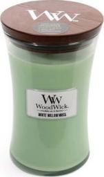 WoodWick zapach w szkle WoodWick duża White Willow Moss 180mm x 110mm (93051E)