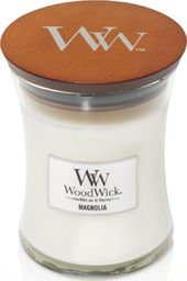 WoodWick świeca w szkle średnia magnolia 114mm x 98mm (92190E)