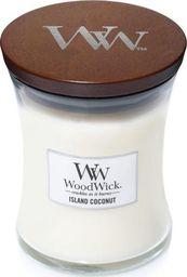 WoodWick świeca w szkle średnia Island Coconut 114mm x 98mm (92115E)
