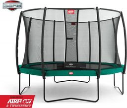 Berg BERG Champion Green 270 + Safety Net Deluxe 35.39.01.02 (35.39.27.01; 35.72.19.02) uniwersalny