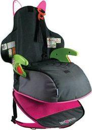 Trunki Trunki Podstawka podwyższająca i plecak 2w1 - różowy TRUA-0046 uniwersalny