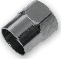 Bradas kapturek na wentyl chrom uniwersalny (13706)