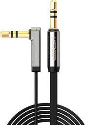 Kabel Ugreen Jack 3.5mm - Jack 3.5mm 1m srebrny (10597)