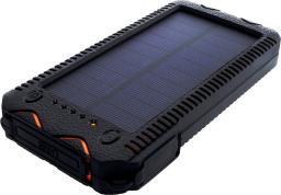 Powerbank Sunen 12000mAh (44,4Wh) z panelem solarnym