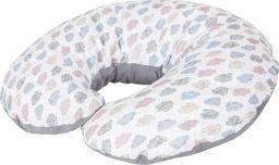 Ceba Ceba Baby, Wielofunkcyjna poduszka Cebuszka PHYSIO Mini, Chmurki, 180 x 33 cm.